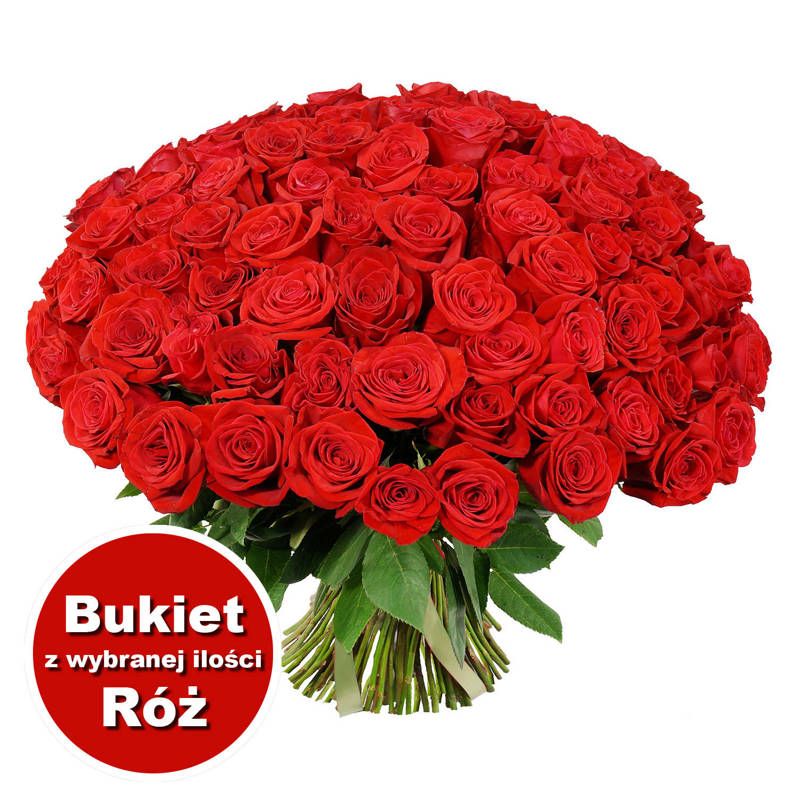 Bukiet 64 Róż