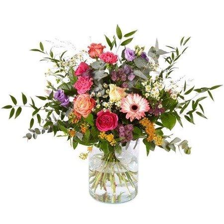 Bukiet mieszanych kwiatów Zefirek