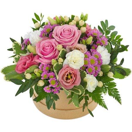 Flower Box Dziękuję z dostawą