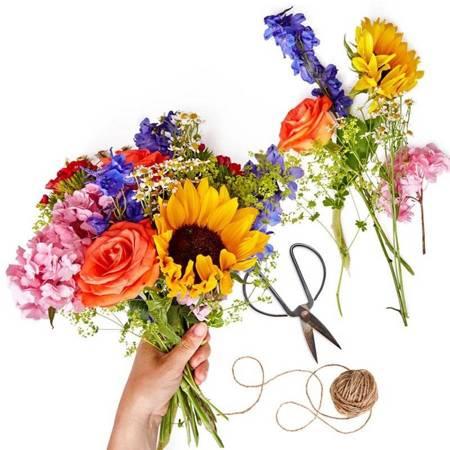 Wybór kwiaciarni - kolorowy