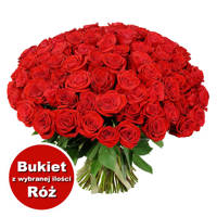 Bukiet 88 Róż